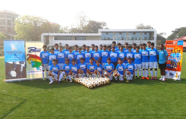 Enerzal Football Camp 2012 - Goa